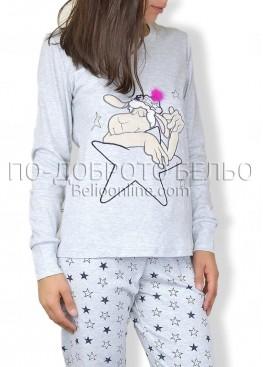 Пижама с дълъг ръкав Affect  6594