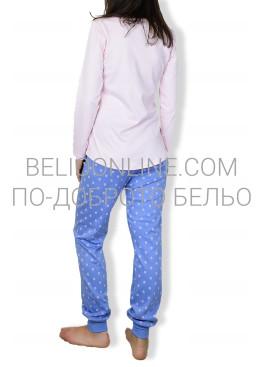 Пижама с котка и стеснен панталон Affect 6610