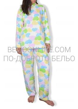 Пухкава дебела пижама на сърца 6604