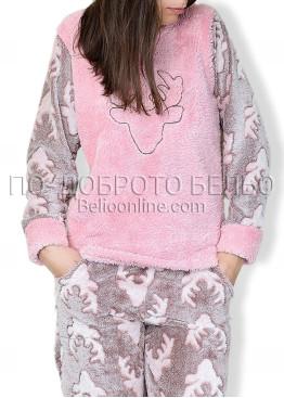 Топла мека пижама 6741
