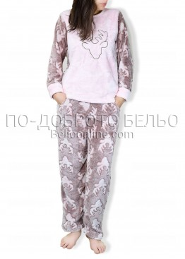 Топла мека пижама 6742