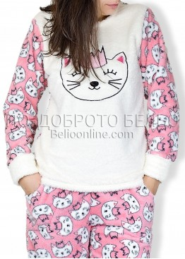 Топла мека пижама Kity 6743