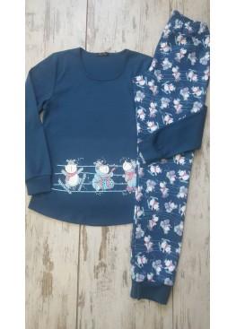 Зимна пижама Иватекс 7371
