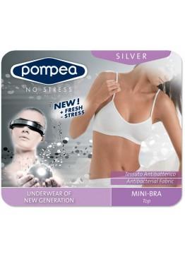 Бюстие POMPEA Brassiere Silver